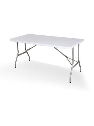Table PEHD rectangulaire - pliante