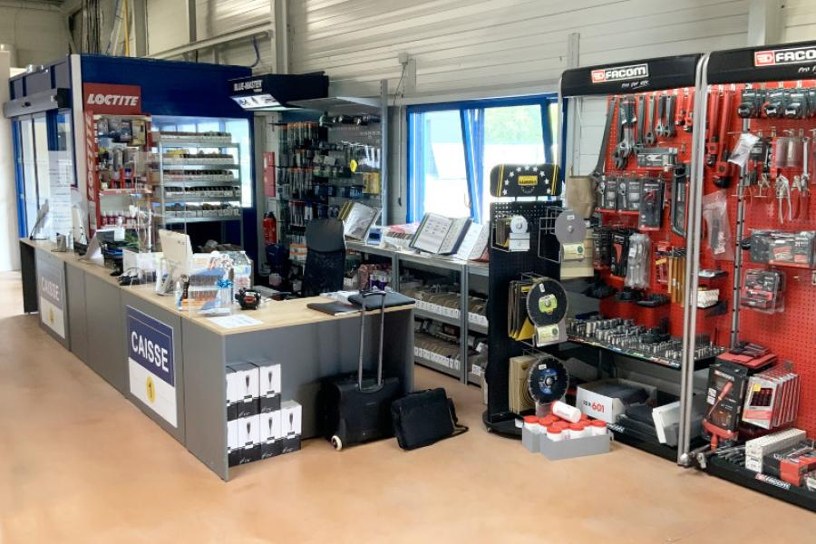 Comptoirs standards modulables
