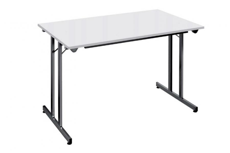 Table rectangle pliante empilable